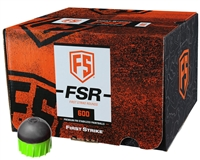 First Strike Paintball 600 Round Paintballs - FSR - Smoke/Green Shell - Green Fill