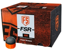 First Strike Paintball 600 Round Paintballs - FSR - Smoke/Orange Shell - Orange Fill