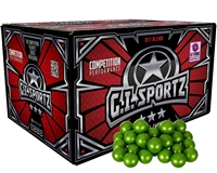 GI Sportz 3 Star Paintballs - Case of 100