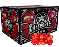 GI Sportz 3 Star Paintballs - Case of 1,000