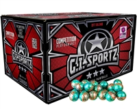GI Sportz Paintball Case of 100 Paintballs - American Flag