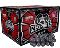 GI Sportz Paintball Carbon Fiber 3 Star Paintballs - Case of 500