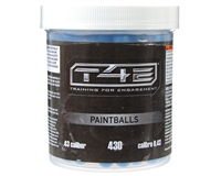 T4E Paintball .43 Cal Paintballs - 430 Rounds