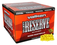 Valken Paintball .50 Caliber Case of 2,000 Paintballs - Reserve