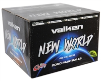 Valken New World Paintballs - Case of 2000 - Yellow Fill