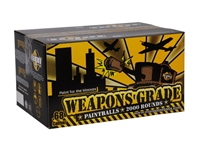 WPN Paintball Weapons Grade Paintballs - Case of 2,000 - Yellow Fill