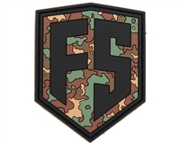 HK Army Paintball Rubber Patch with Velcro - Shield