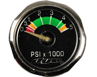 Dye Precision Paintball PSI Gauge - Mini Glow (5,000 PSI)
