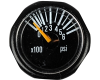 Invert Paintball PSI Gauge - Micro (600 PSI)