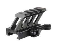 "Valken Paintball 0.5"" 3 Slot Quick Disconnect Tactical 45 Degree Riser Mount (79607)"