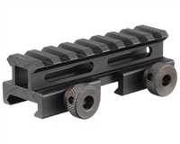 "Valken Paintball 3/4"" 8 Slot Tactical Riser Mount (80528)"