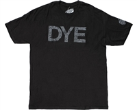 Dye Precision Paintball T-Shirt - Typed