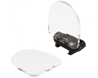 Aim Sports Flip Up Sight Lens Protector (X2 Clear)