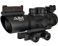 Aim Sports Sight - Prismatic Series - 4X32mm w/ Tri-Illumination & Arrow Reticle (JTAPO432G)