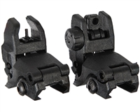 Warrior Paintball Sight - Front & Rear Flip Up