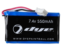 Dye Precision Paintball Spare Part #R95661001 - M2 Li-Ion Rechargeable Battery