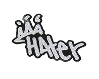 Hater Paintball Decorative Sticker