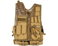 Warrior Paintball Tactical Vest - Crossdraw