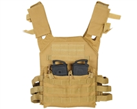 Warrior Paintball Tactical Vest - Low Profile Plate Carrier