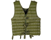 Warrior Paintball Zip Up Vest - Molle